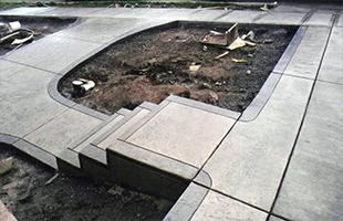 Строительство (устройство) бетонных пандусов и ступеней